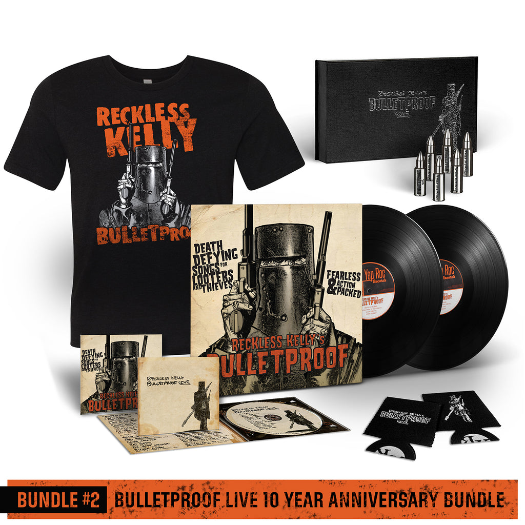 Bundle #2 Bulletproof Live 10 Year Anniversary Bundle