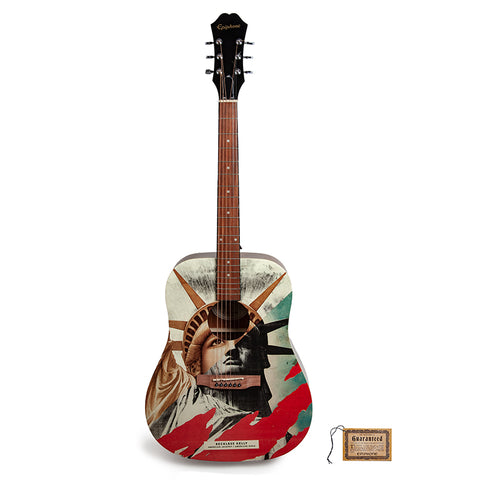 American Jackpot / American Girls Guitar - Autographed by Reckless Kelly