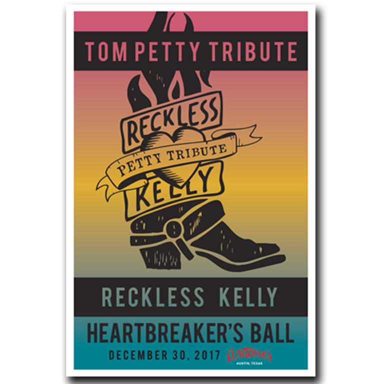 RK's Heartbreaker's Ball Petty Tribute Poster