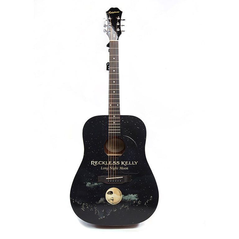 Long Night Moon Guitar - AUTOGRAPHED BY RECKLESS KELLY