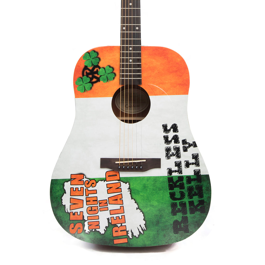 Reckless Kelly Seven Nights In Ireland Guitar - AUTOGRAPHED BY RECKLESS KELLY