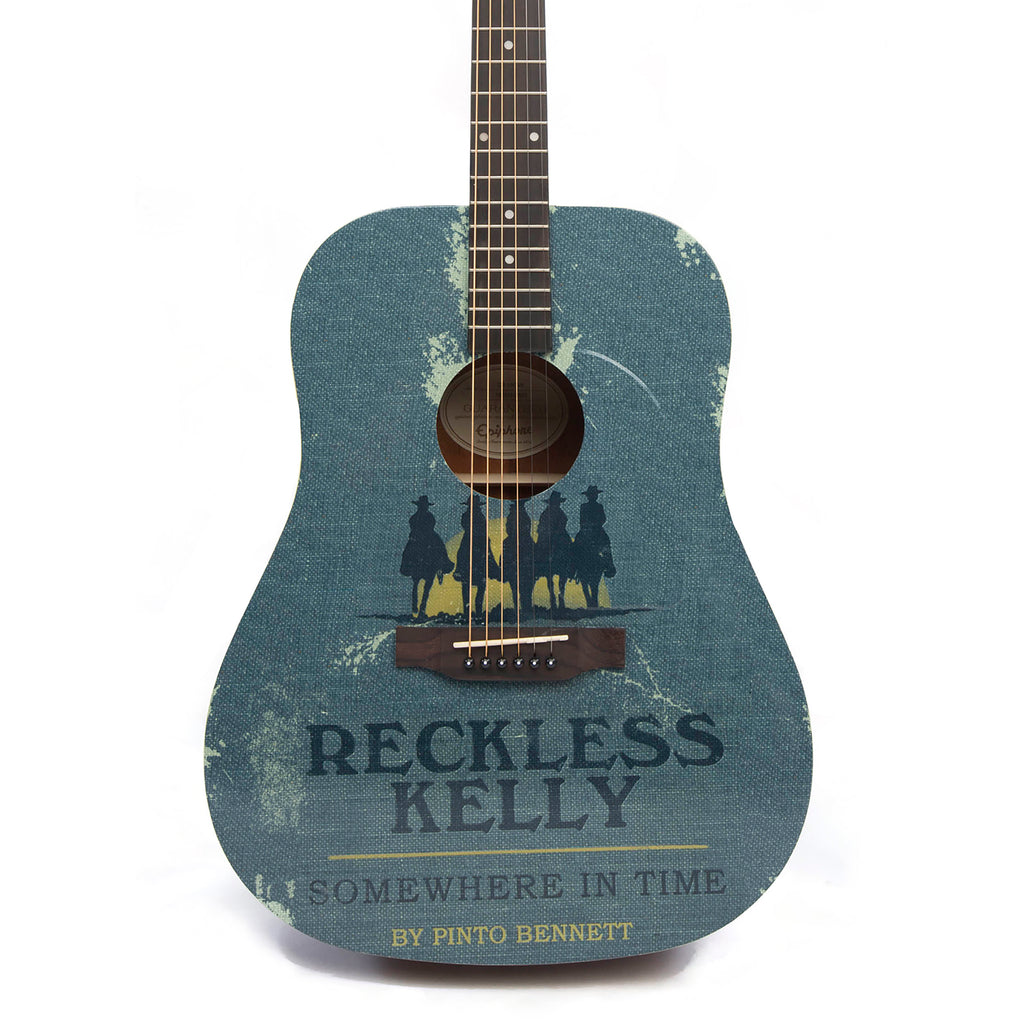 Reckless Kelly Somewhere In Time Guitar - AUTOGRAPHED BY RECKLESS KELLY