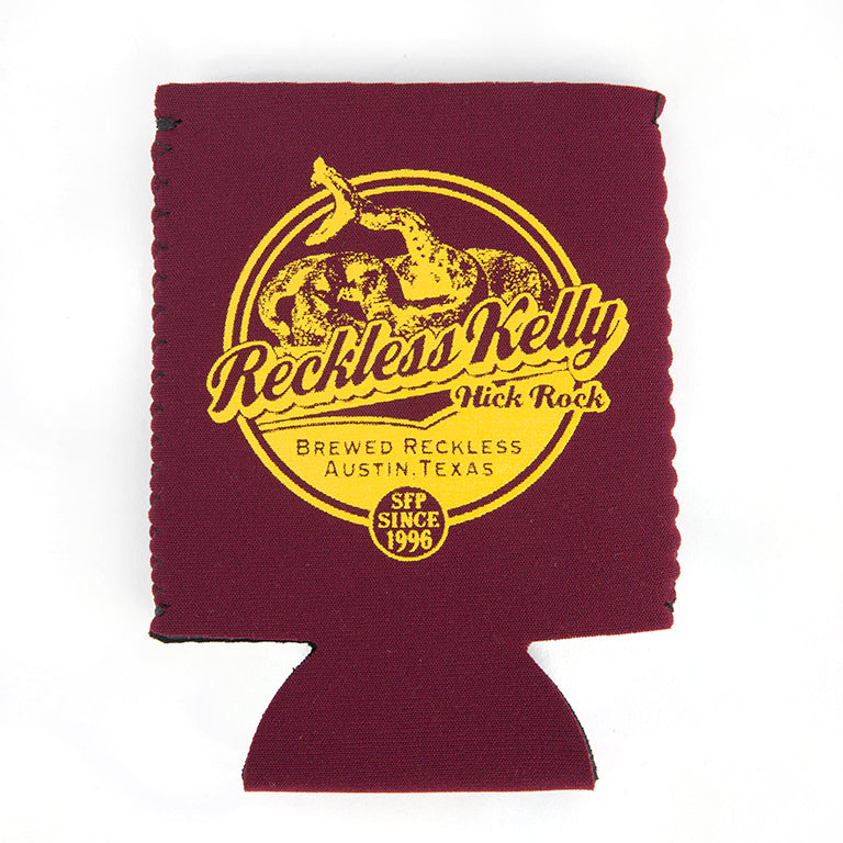 Brewed Reckless Koozie