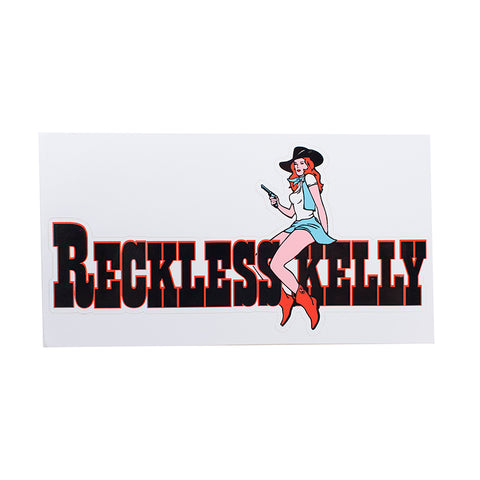 RK Boot Chick Sticker