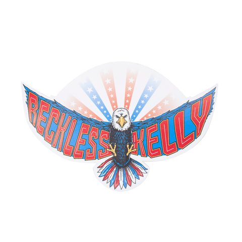RK American Eagle Sticker