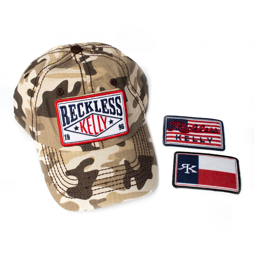 RK CAMO Velcro 3 Patch Cap