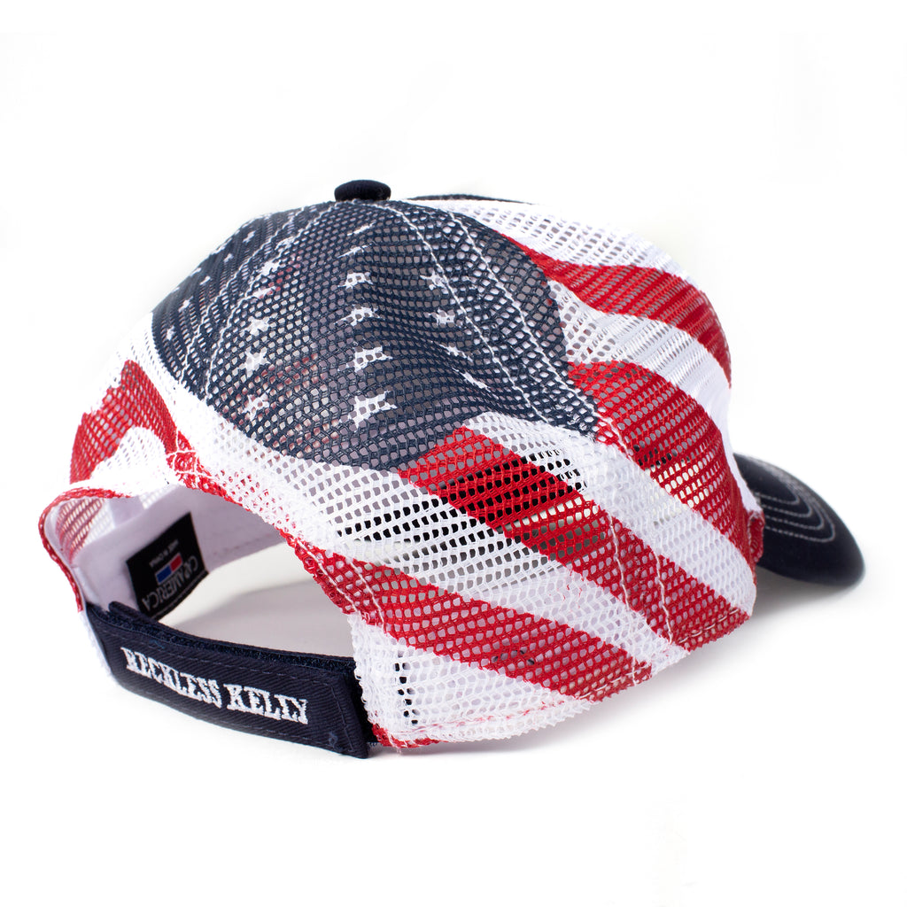 American Flag Back Cap