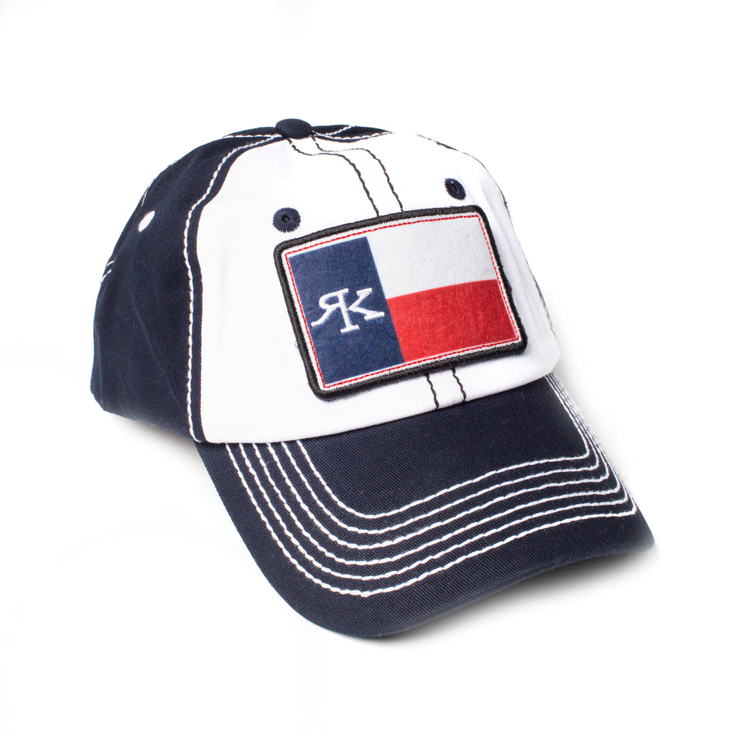RK Navy Velcro 3 Patch Cap