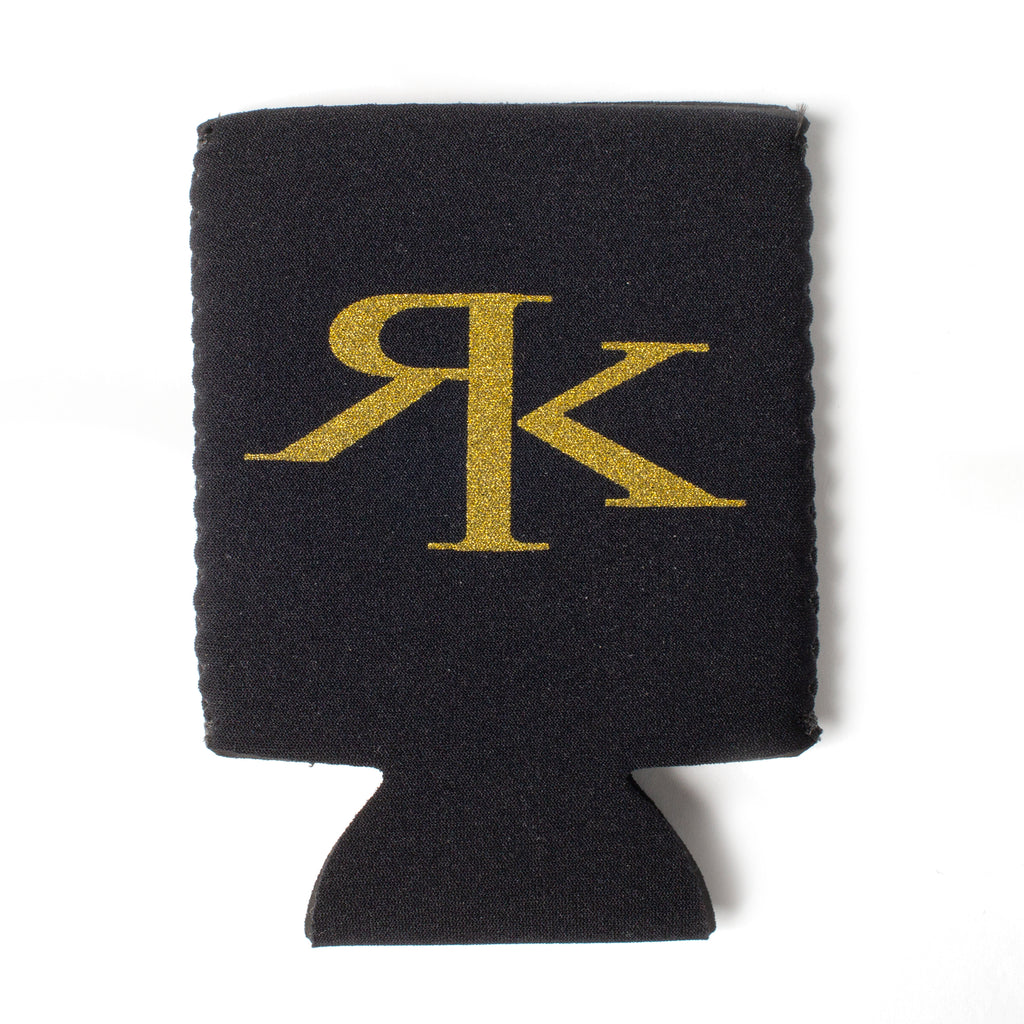 Black & Gold RK Boot Koozie