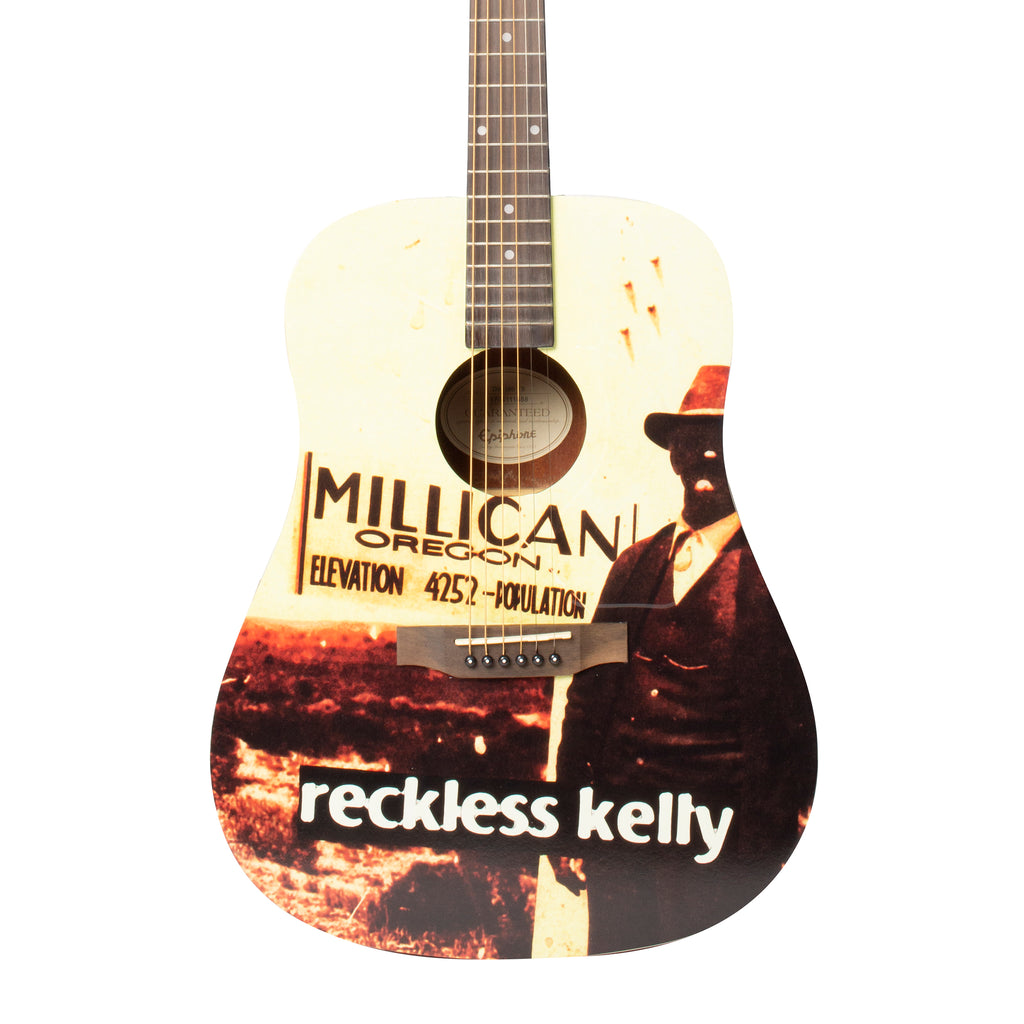 Millican Guitar - AUTOGRAPHED BY RECKLESS KELLY
