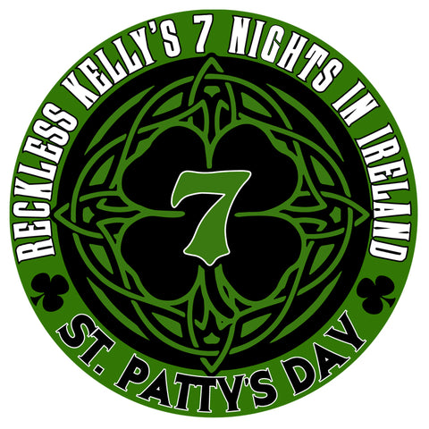 7 Nights In Ireland - St. Patty's Day Sticker