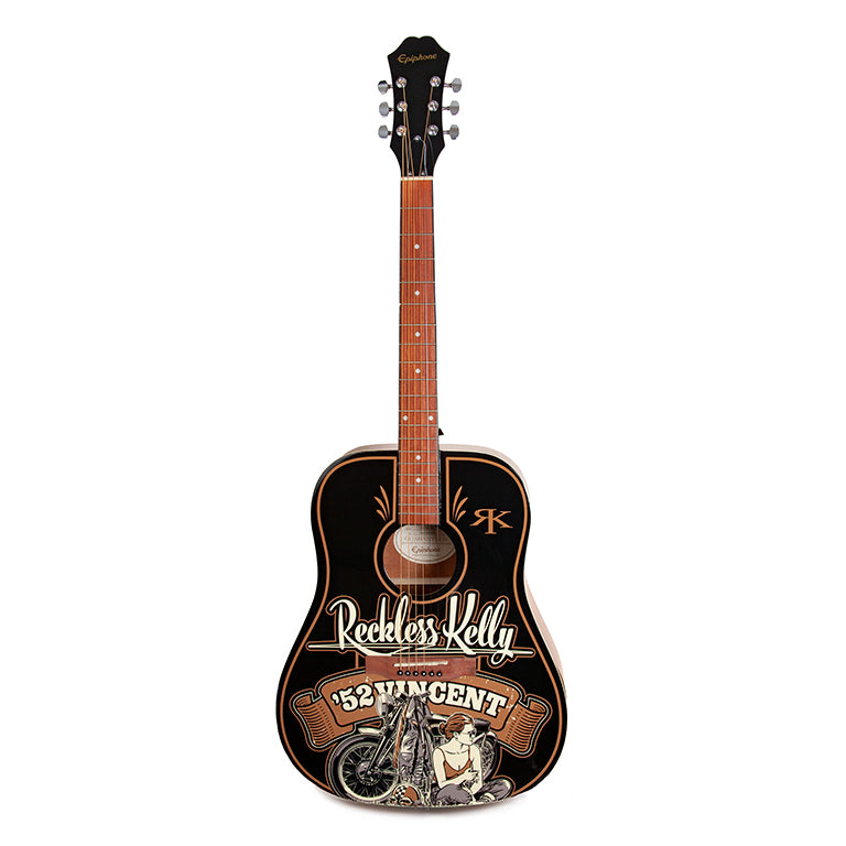 52 Vincent Guitar  - AUTOGRAPHED BY RECKLESS KELLY