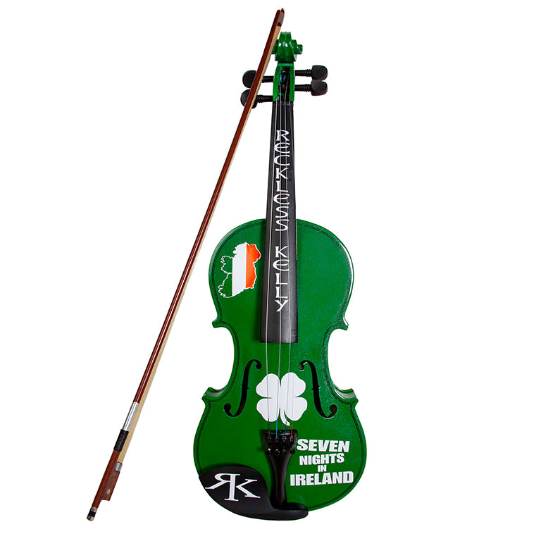 7 Nights In Ireland Fiddle & Bow w/Case - Autographed by RK