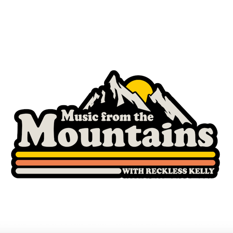 Music From The Mountains Sticker