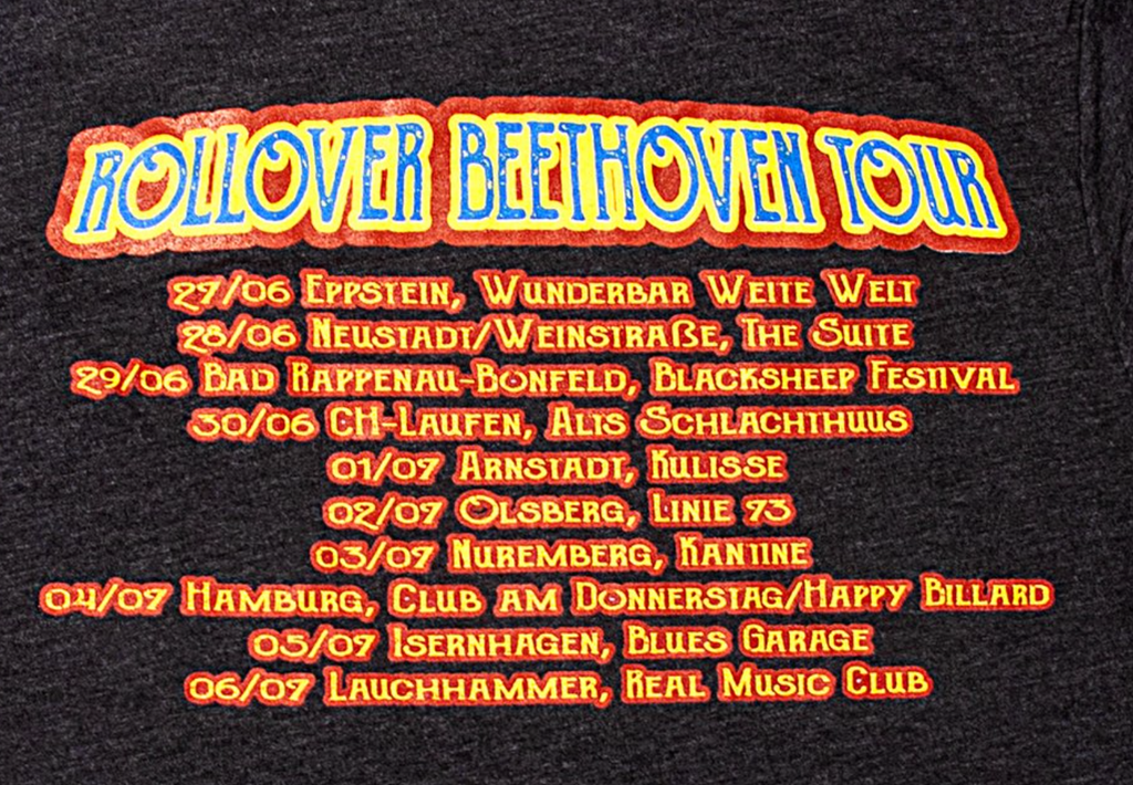 Rollover Beethoven Tour T-Shirt (2019)