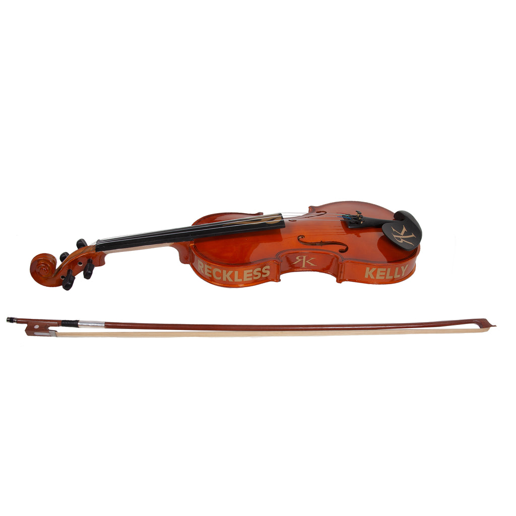 Flame  Fiddle w/ Case - Autographed by RK
