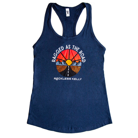 Ragged As The Road Ladies Tank