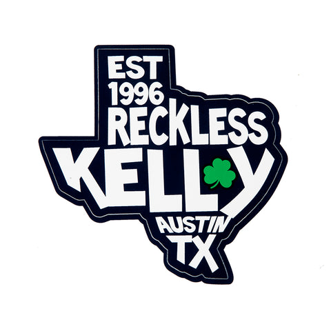 Texas Clover Sticker