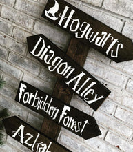 Load image into Gallery viewer, Harry Potter arrow sign