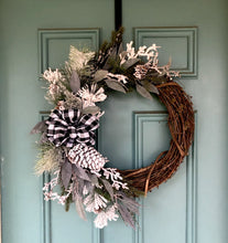 Load image into Gallery viewer, White witch winter wreath
