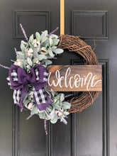 Load image into Gallery viewer, Loretta lavender wreath