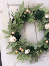 Load image into Gallery viewer, French garden wreath