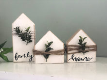 Load image into Gallery viewer, DIY mini wood block home set