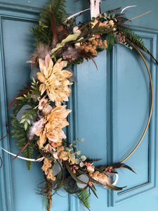 Neutral Hoop Wreath
