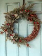 Load image into Gallery viewer, Winter Edith Wreath