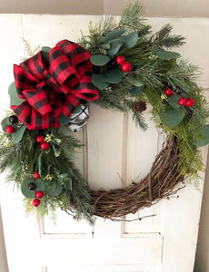 Twila winter wreath