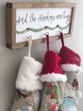 Load image into Gallery viewer, Christmas stocking hanger