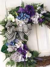 Load image into Gallery viewer, Gloria Hydrangea Wreath