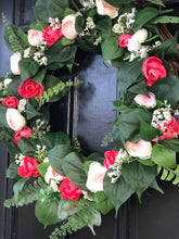 Load image into Gallery viewer, Florence Rose wreath