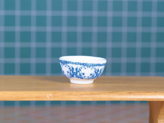 Blue & White Bowl-Dollshouse Hampshire