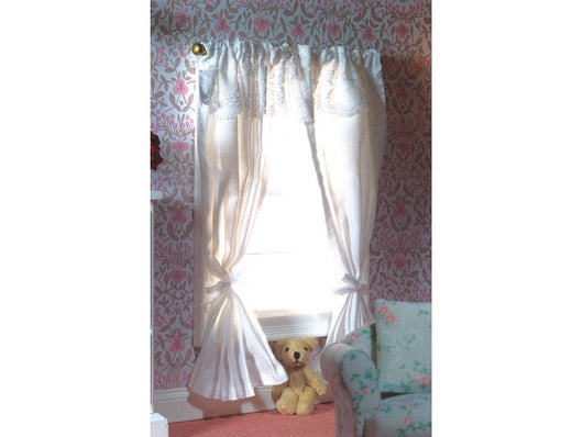 Curtains 2 Pairs-Dollshouse Hampshire