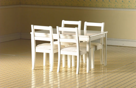 Table & 4 Chairs-Dollshouse Hampshire
