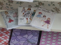 Childrens Sewing Patterns-Dollshouse Hampshire