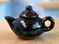 Brown Teapot-Dollshouse Hampshire
