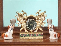 Cherub Clock-Dollshouse Hampshire