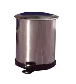 Bin, Stainless Steel-Dollshouse Hampshire