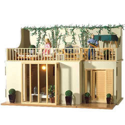 Lake View Garden Rooms (flat Pack)-Dollshouse Hampshire