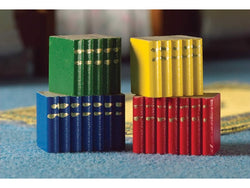 4 Book Blocks-Dollshouse Hampshire