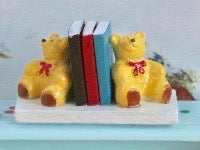 Bear Bookends-Dollshouse Hampshire