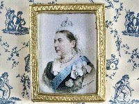 Queen Victoria Picture-Dollshouse Hampshire