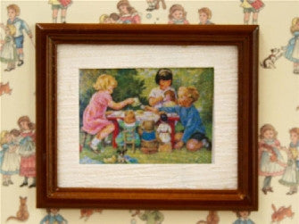 Childs Tea Party-Dollshouse Hampshire