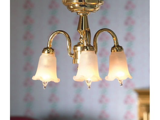 3 Arm Tulip light-Dollshouse Hampshire