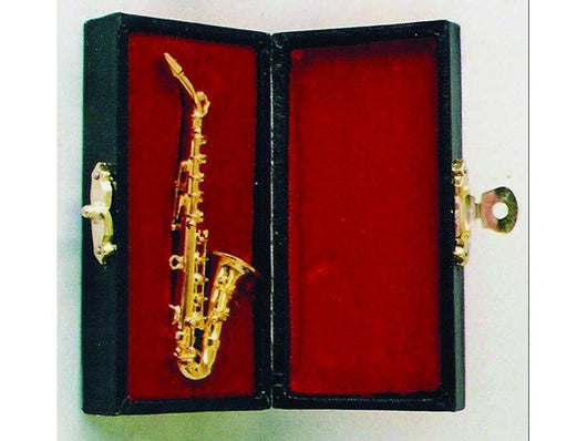 Saxophone in Case-Dollshouse Hampshire
