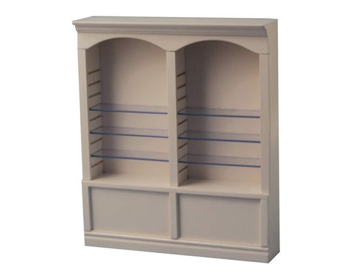 Double White Shelves-Dollshouse Hampshire