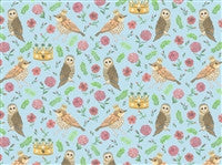 Bird Blue Wallpaper-Dollshouse Hampshire