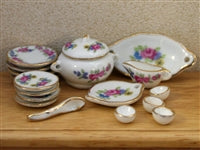 Dinner Set-Dollshouse Hampshire